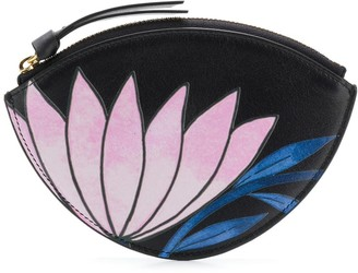 Chloé Flower Zipped Wallet