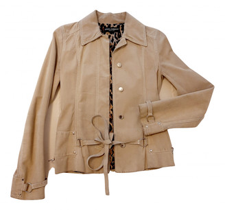 Dolce & Gabbana Beige Suede Leather jackets