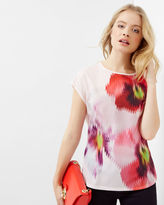 Ted Baker Expressive Pansy Tshirt