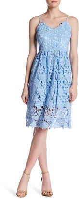 Alexia Admor Fit & Flare Lace Dress