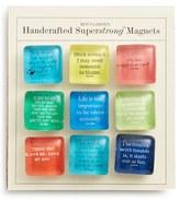 Ben's Garden 'Bright Scripts' Superstrong(TM) Magnets - Pink