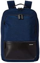 Zero Halliburton 17 Lightweight Business Nylon - Backpack (Blue) Backpack Bags