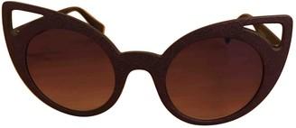 Italia Independent Blue Plastic Sunglasses
