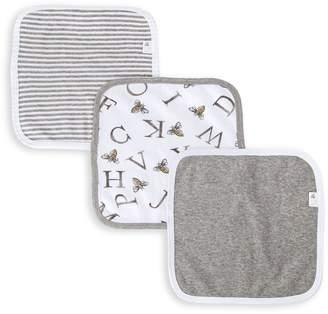 Burt's Bees A-Bee-C Organic Baby Washcloths 3 Pack