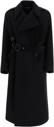 Dolce & Gabbana Double-breasted Coat With Belt