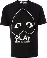 Comme des Garcons logo heart T-shirt