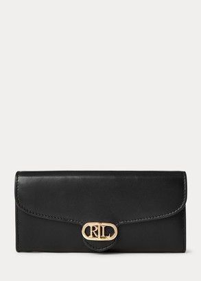 Ralph Lauren Leather Continental Wallet