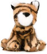 Liska - mink fur tiger plush - unisex - Mink Fur - One Size