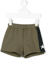 Douuod Kids - star stripe knit shorts - kids - Cotton/Polyester - 12 mth