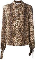 P.A.R.O.S.H. leopard print shirt - women - Silk - S