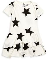 Nununu Baby's Star-Print Dress