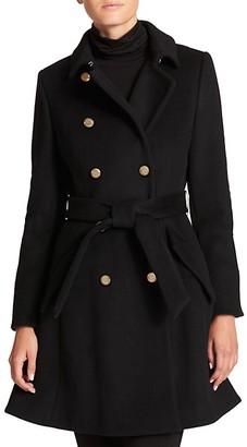 DKNY Double Breasted Princess Coat