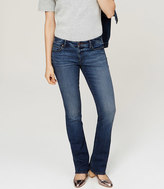 LOFT Modern Boot Cut Jeans in Classic Blue Wash