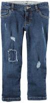 Carter's 5-Pocket Distressed Loose-Fit Jeans