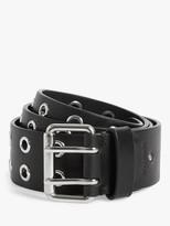 AllSaints Iryna Eyelet Leather Belt
