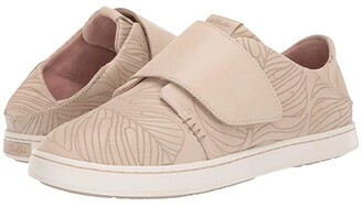 OluKai Pehuea Loupili (Black Monstera/Off-White) Women's Shoes