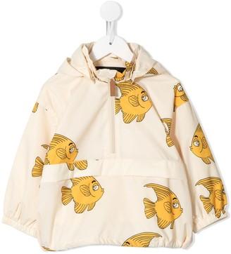 Mini Rodini Fish-Print Raincoat