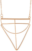 Stephan & Co Triangle Geo Pendant Necklace