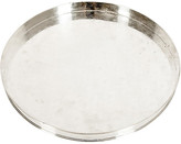 One Kings Lane Vintage English Sheffield Plated Barware Tray - La Maison Supreme - silver