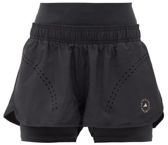 adidas by Stella McCartney Truepurpose Stretch-jersey Running Shorts - Black