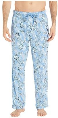 Tommy Bahama Knit PJ Pants (Tropical Leaves) Men's Pajama