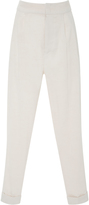 Isabel Marant Linen-Blend Tapered Pants