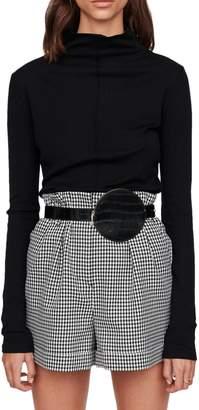 Maje Titan Wool-Blend Turtleneck Sweater
