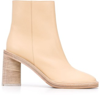 Acne Studios 95mm Square-Toe Ankle Boots