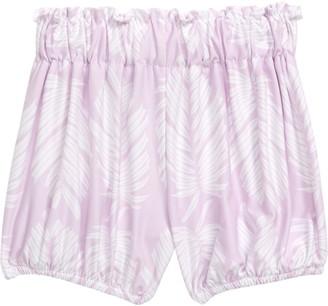 Sweet Sweet Honey Hawaii Palm Print Shorts