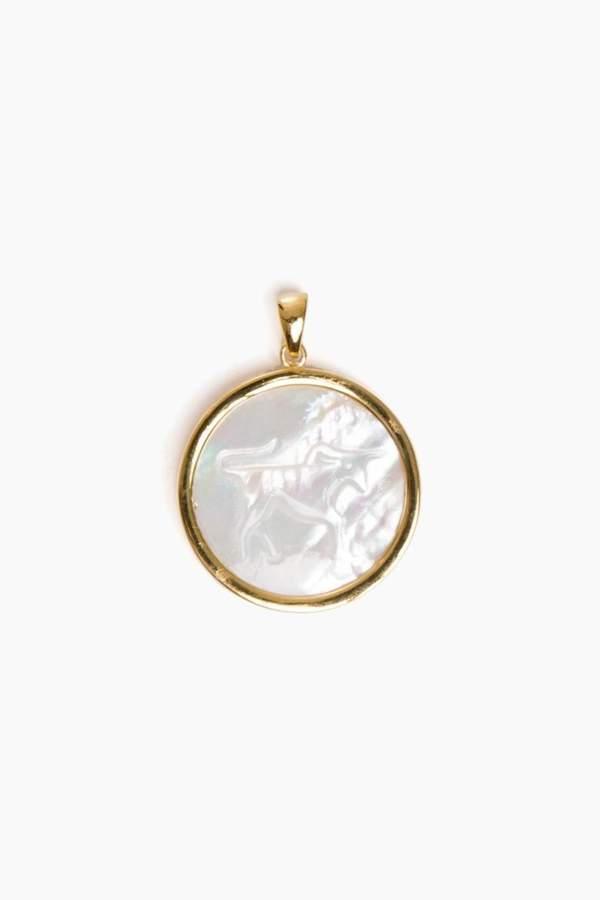 Asha Taurus Pendant Necklace