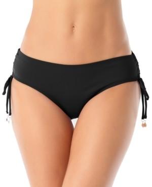 Anne Cole Ruched-Side Bikini Bottoms Women's Swimsuit