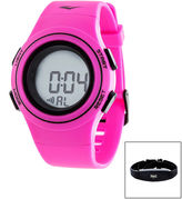 Everlast Womens Pink Heart Rate Watch
