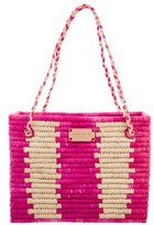 Kate Spade Woven Straw Tote w/ Tags