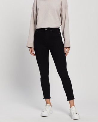 Love and Nostalgia - Women's Crop - Joan Hi-Rise Skinny Cropped Jeans - Size One Size, 10 at The Iconic