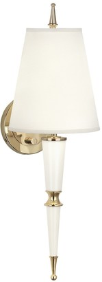Jonathan Adler Versailles Sconce with Fabric Shade