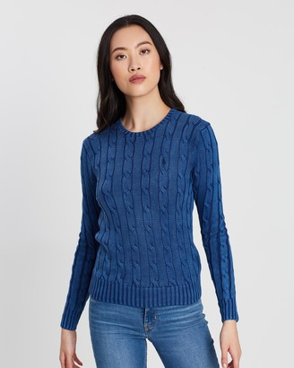 Polo Ralph Lauren Julianna Cable Crew Neck Sweater