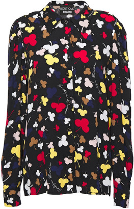 Boutique Moschino Printed Crepe Shirt