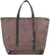 Vanessa Bruno M+ Medium Sequined Canvas Tote