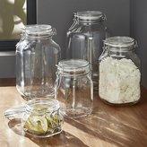Crate & Barrel Fido Jars with Clamp Lids