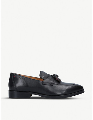 Selfridges Shep tassel leather loafers