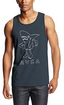 RVCA Men's Surf Shark Tank Top