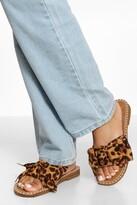 Thumbnail for your product : boohoo Bow Espadrille Sandal