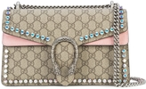 Gucci Dionysus GG Supreme Crystals Shoulder Bag