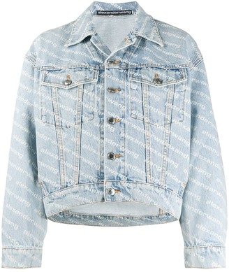 Alexander Wang Falling Back denim jacket