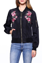 Love Tree Floral Bomber