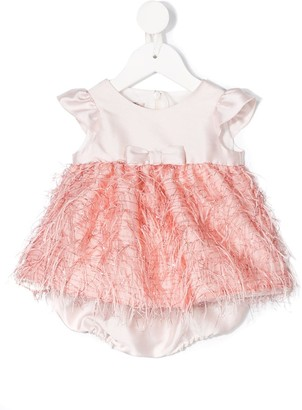 La Stupenderia Fringed Design Dress