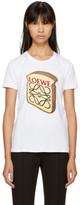 Loewe White Toast Logo T-shirt