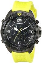 Freestyle Men's 10022923 Precision 2.0 Analog-Digital Display Japanese Quartz Yellow Watch