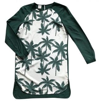 Baum und Pferdgarten Green Silk Dress for Women