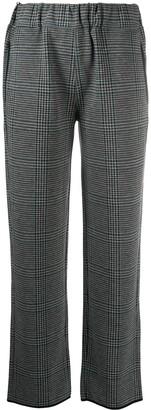 Emporio Armani Glen check trousers